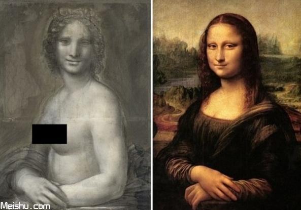 《蒙娜丽莎》或有裸体姐妹作 法国现神似达芬奇同期作品