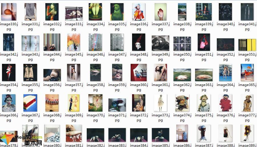 美术网FX032-(20年时尚图集)世界摄影艺术大师时尚摄影集-241张-17MB