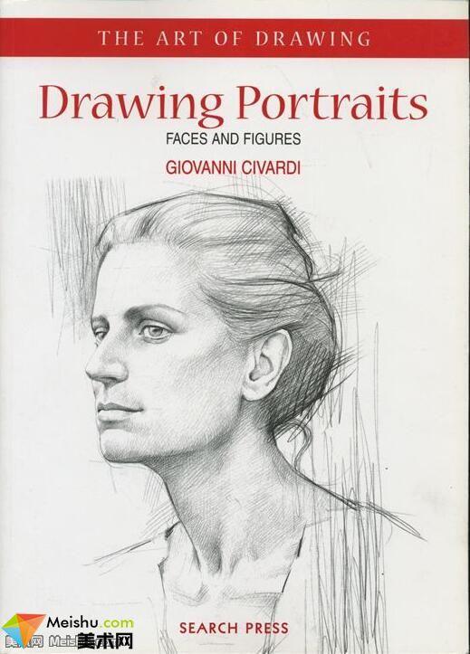 美术网FX036-素描 肖像绘画教程英文版下载-4MB
