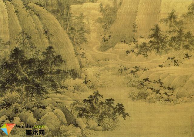 五代宋初,巨然山水画赏析