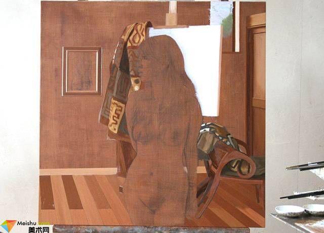 油画技法-油画创作的迷人之处