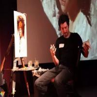油画技法-美国油画家Casey Baugh的油画肖像步骤