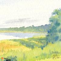 水彩画技法-水彩画教程