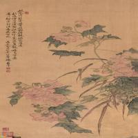 """古画技法-中国画绘画技法之""""没骨画法"""""""