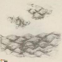 水墨技法-中国画中怎样画水