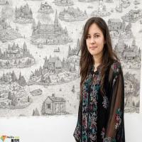 英国艺术家壮观的手绘幻想建筑图景