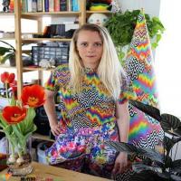 当代前卫艺术家珍·斯塔克 Jen Stark | 用纸张代替画笔
