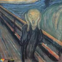 被拿来做表情包的名画《呐喊》,到底讲了什么?