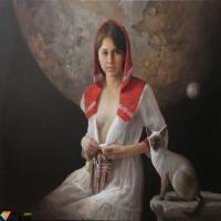 吴冠中油画对中国画表现方法的借鉴,貌若天仙的人体油画美女欣赏