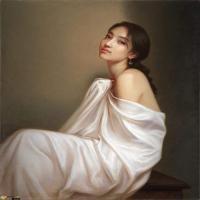 论构图法在油画语言中的作用,美到极致的世界人体名画美女赏析!
