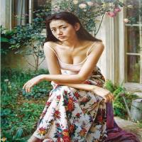 油画主题与形式创作引发的思索,人体油画里的美女,尽显东方女性美