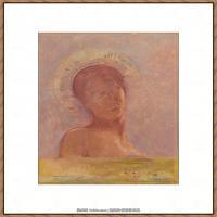 奥迪龙雷东油画作品高清图片Odilon Redon (8)