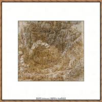 世界著名绘画大师达芬奇DaVinci油画作品高清大图蒙娜丽莎达芬奇世界著名油画作品高清图片 (105)