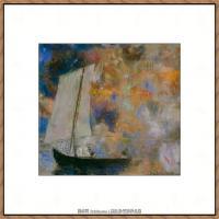 奥迪龙雷东油画作品高清图片Odilon Redon (21)1