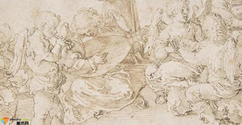 德國畫家阿爾布雷特,丟勒AlbrechtDurer-素描展(一)