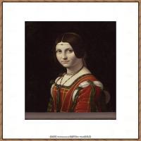 世界著名绘画大师达芬奇DaVinci油画作品高清大图蒙娜丽莎达芬奇世界著名油画作品高清图片 (66)