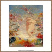 奥迪龙雷东油画作品高清图片Odilon Redon (13)