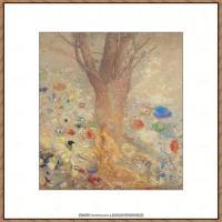 奥迪龙雷东油画作品高清图片Odilon Redon (11)