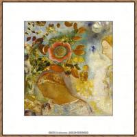 奥迪龙雷东油画作品高清图片Odilon Redon (15)