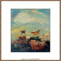 奥迪龙雷东油画作品高清图片Odilon Redon (5)