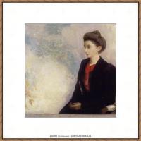 奥迪龙雷东油画作品高清图片Odilon Redon