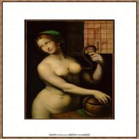 世界著名绘画大师达芬奇DaVinci油画作品高清大图蒙娜丽莎达芬奇世界著名油画作品高清图片 (76)