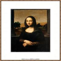 世界著名绘画大师达芬奇DaVinci油画作品高清大图蒙娜丽莎达芬奇世界著名油画作品高清图片 (88)