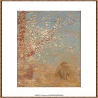 奥迪龙雷东油画作品高清图片Odilon Redon (14)