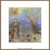 奥迪龙雷东油画作品高清图片Odilon Redon (1)