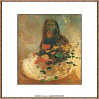 奥迪龙雷东油画作品高清图片Odilon Redon (6)