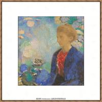 奥迪龙雷东油画作品高清图片Odilon Redon (4)