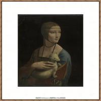 世界著名绘画大师达芬奇DaVinci油画作品高清大图蒙娜丽莎达芬奇世界著名油画作品高清图片 (98)