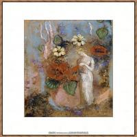 奥迪龙雷东油画作品高清图片Odilon Redon (17)
