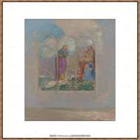 奥迪龙雷东油画作品高清图片Odilon Redon (10)