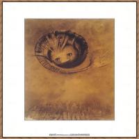奥迪龙雷东油画作品高清图片Odilon Redon (10)-