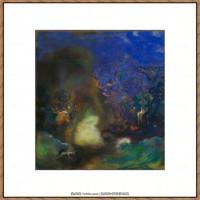 奥迪龙雷东油画作品高清图片Odilon Redon (2)