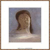 奥迪龙雷东油画作品高清图片Odilon Redon (18)