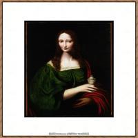 世界著名绘画大师达芬奇DaVinci油画作品高清大图蒙娜丽莎达芬奇世界著名油画作品高清图片 (71)