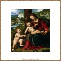 世界著名绘画大师达芬奇DaVinci油画作品高清大图蒙娜丽莎达芬奇世界著名油画作品高清图片 (65)