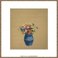 奥迪龙雷东油画作品高清图片Odilon Redon (16)