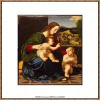 世界著名绘画大师达芬奇DaVinci油画作品高清大图蒙娜丽莎达芬奇世界著名油画作品高清图片 (73)