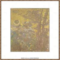 奥迪龙雷东油画作品高清图片Odilon Redon (32)