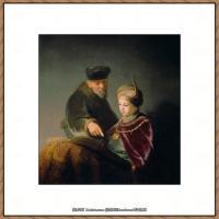 荷兰现实主义画家伦勃朗Rembrandt17世纪最伟大的画家油画作品高清大图肖像画风景画风俗画宗教画 (21)