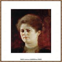克里姆特Gustav Klimt油画作品奥地利象征主义画家克里姆特油画作品高清图片 (23)
