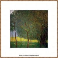 克里姆特Gustav Klimt油画作品奥地利象征主义画家克里姆特油画作品高清图片 (22)