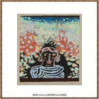 画家保罗克利Paul Klee油画作品高清图片野兽派油画大师作品高清大图 (66)