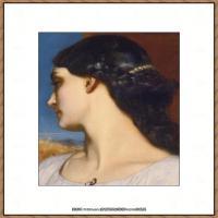 弗雷德里克莱顿洛德莱顿Frederic_Leighton油画作品高清大图古典油画作品高清图片 (40)
