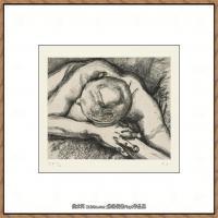 英国表现派绘画大师卢西安弗洛伊德Lucian Freud油画作品高清大图最贵画家卢西安弗洛伊德绘画作品高清图库 (61)