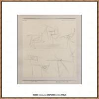 画家保罗克利Paul Klee油画作品高清图片野兽派油画大师作品高清大图 (65)
