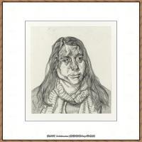 英国表现派绘画大师卢西安弗洛伊德Lucian Freud油画作品高清大图最贵画家卢西安弗洛伊德绘画作品高清图库 (67)